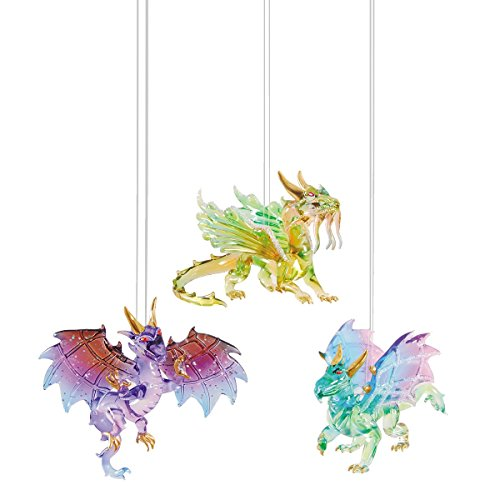 WINGED DRAGON Ornament, Assorted