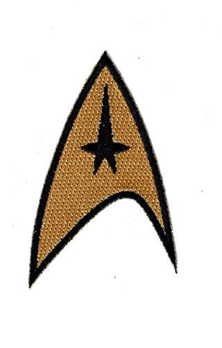 Star Trek Command Starfleet Uniform Cosplay Iron on Patch - Star Trek Patches