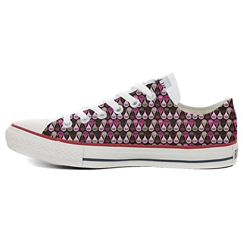 All Your Make Drops Star Artisanal Shoes Converse Coutume Hi Chaussures Produit wtqq41U
