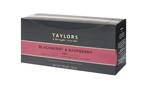 Taylors of Harrogate Blackberry & Raspberry Herbal Tea, 100 Teabags (Blackberries Raspberries)