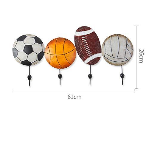 el Baloncesto el Futbol Perchero,el Futbol Deporte Estilo Estante,Entrada Interior Perchero de Pie,Vistoso Ganchos Habitación