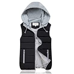 Women's Winter Warm Vest,Ladies Hoodies ...