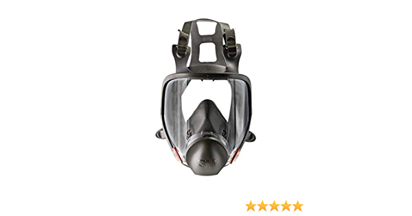 1 x 1 x 1 oz Plastic English 3M 6700 Small Thermoplastic Elastomer Full Face 6000 Series Reusable Respirator with 4 Point Harness and Bayonet Connection 15.34 fl