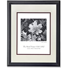 Ansel Adams B/W Photo Leaves Glacier National Park Wall Picture AntW/M Matted Framed Art Print