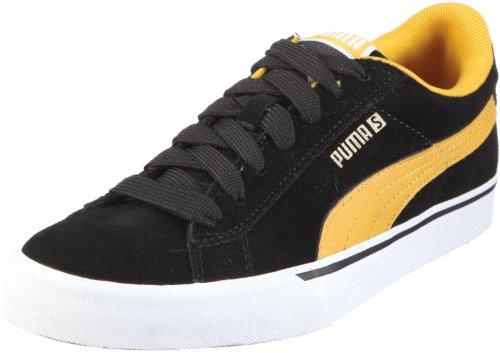 Puma unisex se vulc zapatillas 352670 para adulto Negro (Schwarz/Black-Mineral Yellow)