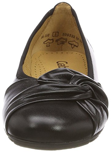 Negro para Gabor Gabor Shoes 27 Bailarinas Casual Schwarz Mujer IFIRPHqnY