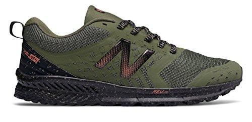 無駄に銀行ケージ(ニューバランス) New Balance 靴?シューズ メンズランニング FuelCore NITREL Trail Dark Covert Green with Black ダーク コンバート グリーン ブラック US 11.5 (29.5cm)