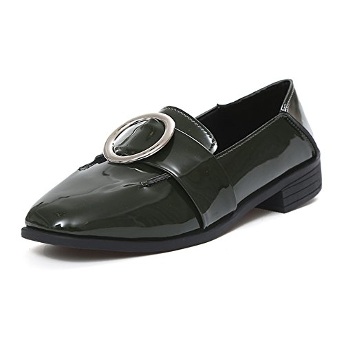 Damen Dünne Schuhe,Hundert Koreanische Version Der Faulen Schuhe,Niedrige Und Casual Britische Schuhe,College Stil Damenschuhe B