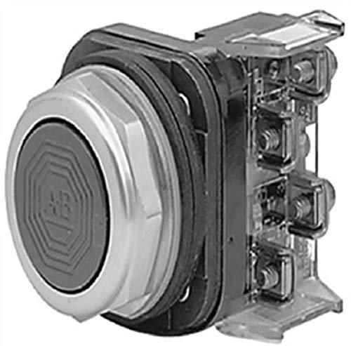 Allen-Bradley 800T-A9AP 30.5MM NEMA 4/13 Momentary Contact Yellow Flush Sealed Switch, 1NO 1NC, PB, Non-Illuminated ()