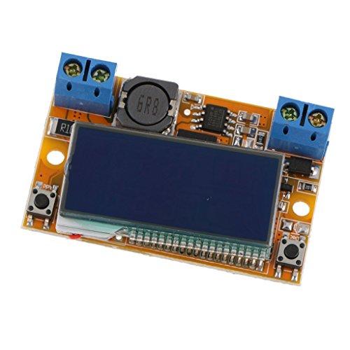 MagiDeal Digital DC-DC Adjustable Voltage Step Down Power Supply Module Volt Amp LCD ()