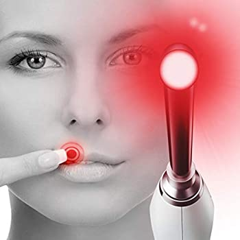 Image of Health and Household Luminance RED - Clinically Proven Cold Sore & Canker Sore Treatment - Light Therapy Laser Device to Remedy & Prevent Mouth Sores, Herpes and Fever Blisters