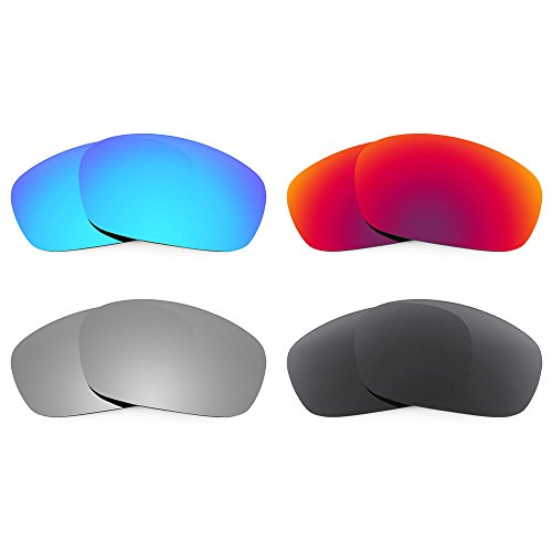 Revant Replacement Lenses for Oakley Racing Jacket Polarized 4 Pair Combo Pack P18