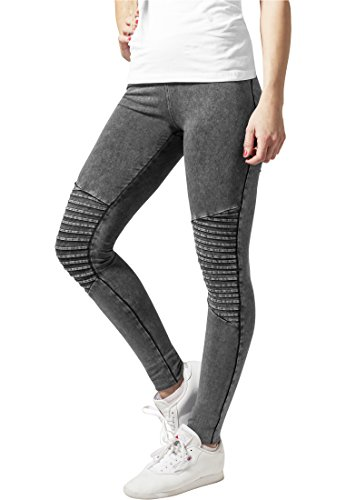 Urban Classics Damen Ladies Denim Jersey Leggings