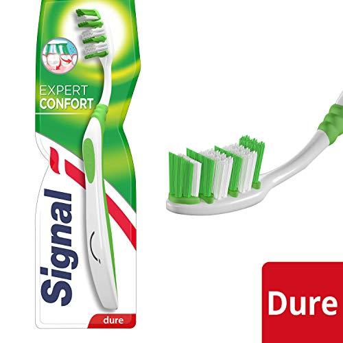 Signal expert confort - Cepillo de dientes manual (dureza dura 9cb8549b6eff