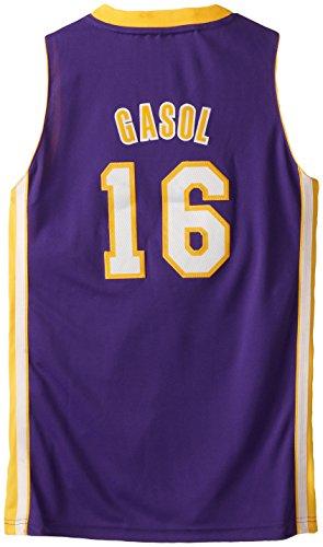 4ea732a13 Compra NBA Los Angeles Lakers Paul Gasol 16 Youth Swingman Road Jersey