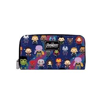 929aae0f21a Loungefly X Marvel Avengers Kawaii Zip Around Wallet