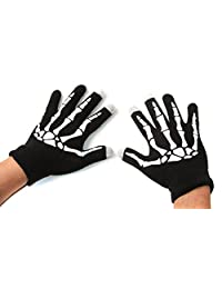 Smartphone Touch Screen Gloves - Skeleton Hands
