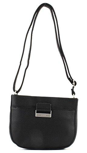 Gerry Weber Talk Different Ii Shoulderbag Shz - Shoppers y bolsos de hombro Mujer Negro (Black)