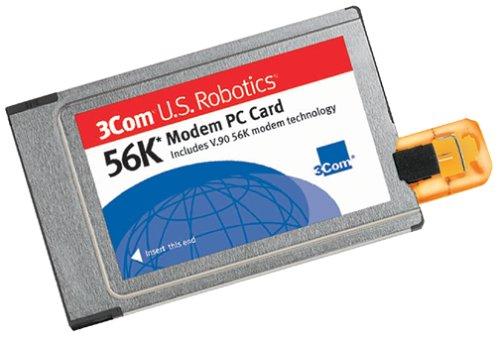 Card Rj11 Modem Pc Cable - U.S. Robotics 56K Modem PC Card with X-Jack