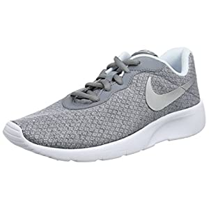 Best Epic Trends 41KEXYhtCRL._SS300_ Nike Girl's Tanjun (GS) Running Shoes (4.5 M US Big Kid, Cool Grey/Metallic Silver)