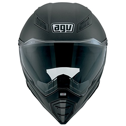 Amazon.com: AGV AX-8 Evo Naked Road Helmet (Matte Black, Large): Automotive