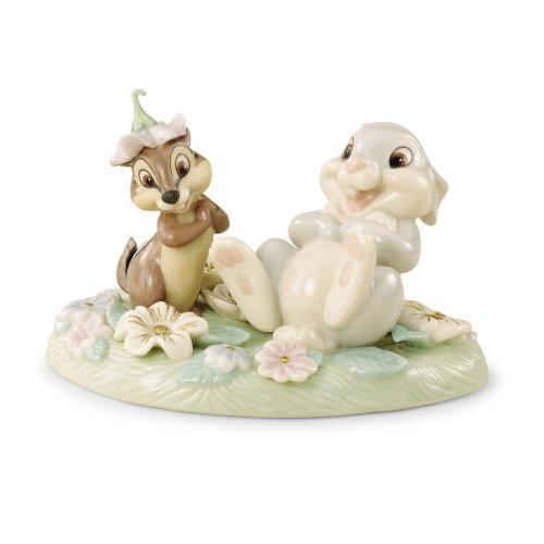 Lenox Thumper's Flowery Friend Sculpture