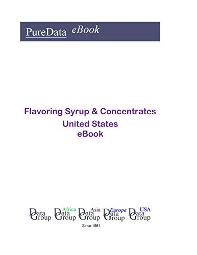 Flavoring Syrup & Concentrates United States: Product Revenues in the United States (English Edition)