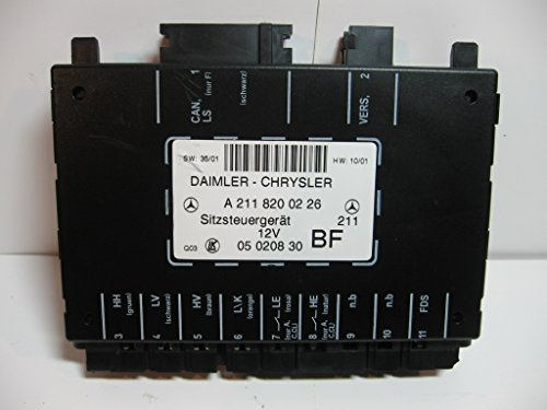 Mod System Memory (Mercedes Benz Seat Memory and Adjustment Control Module Computer A 2118200226)