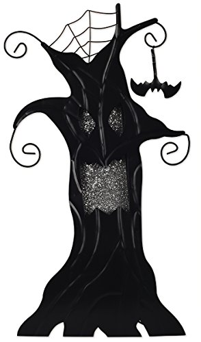 (Sunset Vista Designs Haunted Tree Halloween Decoration with LED)