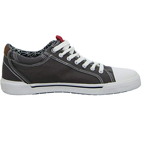 Tela Uomini Webb 13601 Grigio S Stringate Casual Sneaker oliver Degli In qwt5Bz