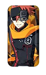 Shock-dirt Proof D Gray Man Characters Case Cover For Galaxy S5