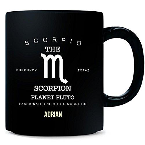 Cup Adrian (Adrian I Am Scorpio The Scorpion - Man - Mug)