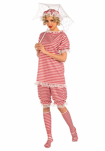 Forum Novelties Women's Roaring 20's Beachside Betty Costume, Red, Large ()