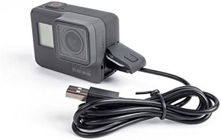 Dragon Trading C-Ersatz Hero 5 GoPro USB Kabel//Sync//Ladeger/ät Kabel f/ür Go Pro Hero 5 Hero 4 in Schwarz