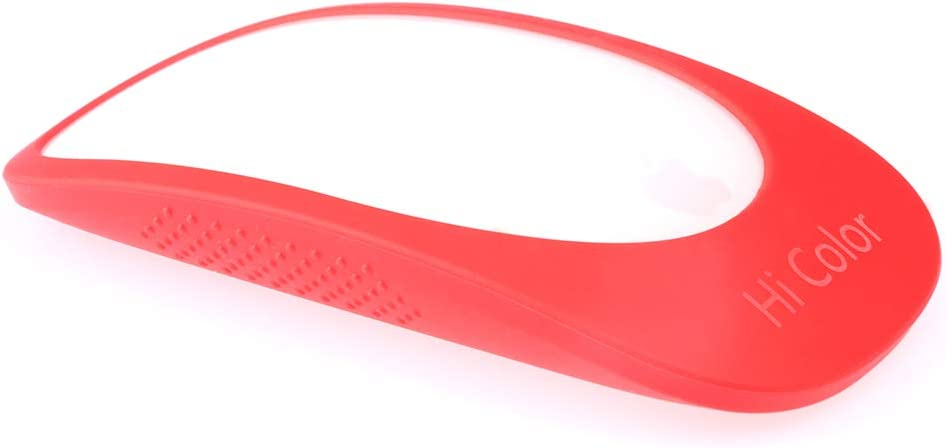 Hi Color Silicone Ultra-Thin Cover for Apple Magic Mouse 1/2 Protective Skin for Apple Mice (Red)