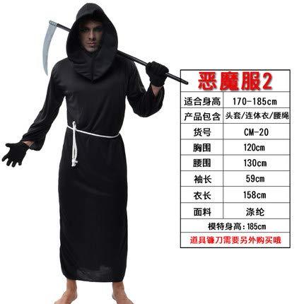 Halloween Vampir Kostüm Umhang Erwachsener Todesumhang Dämon Kosten Ghost Anzug Zombie Kostüm Zombie-2 B07HFT17YZ Kostüme für Erwachsene Ausgezeichneter Wert     | Sale
