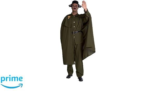 Disfraz de Guardia Civil con Capa para hombre: Amazon.es: Juguetes y juegos