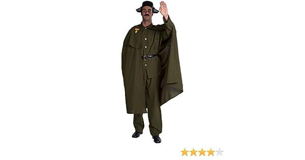 Disfraz de Guardia Civil con Capa para hombre