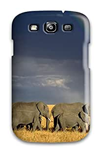 Anti-scratch And Shatterproof Elephant Phone Case For Galaxy S3/ High Quality Tpu Case