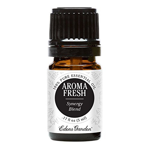 Edens Garden Aroma Fresh Essential Oil Synergy Blend, 100% Pure Therapeutic Grade (Highest Quality Aromatherapy Oils- Great For Deodorizing), 5 ml