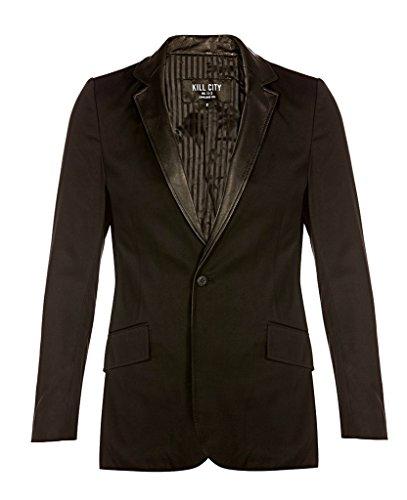 Kill City Lip Service Gothic Rockabilly Rocker Blazer Jacket (City Blazer)