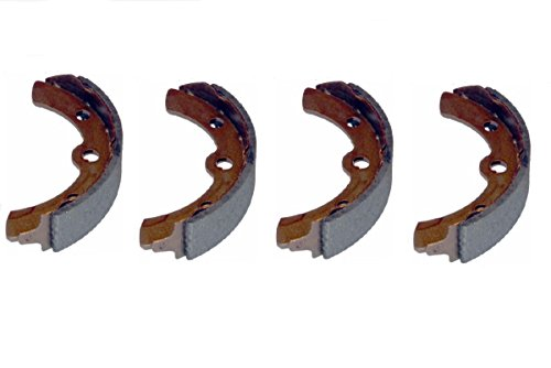 (4) Club Car Brake Shoes 1995 and Up DS and Precedent Golf Carts