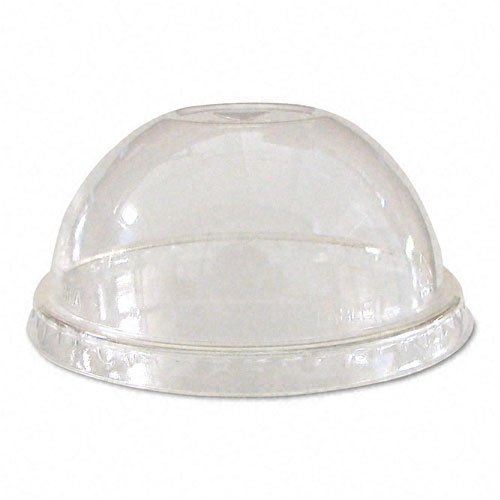(Eco-Products : Lids, for Corn Clear Plastic Cups, Dome, Clear, 1000/Carton, -:- Sold as 2 Packs of - 1000 - / - Total of 2000 Each)