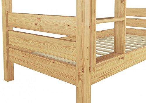 Hochbett Erwachsene 100x200 : T etagenbett cm nische teilbar