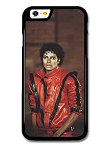 AMAF ? Accessories Michael Jackson Red Suit Thriller King of Pop case for iPhone 6