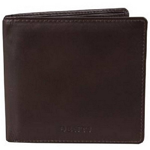 Chocolate Dents Fold Wallet Bill Credit Mens Brown Card Leather nWTT0Aq