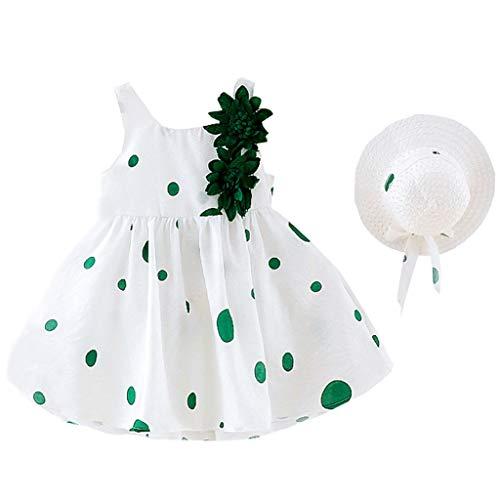 VEFSU Toddler Kids Baby Girls Dot Print Flower