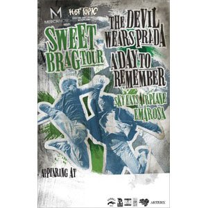 the devil wears prada band poster