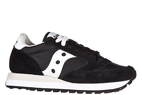 Saucony Damenschuhe Damen Schuhe Sneakers Turnschuhe jazz details Schwarz