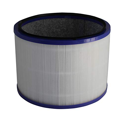 Surrgound Replacement Air Filter(150mm in Height), Fit for Dyson DP01 Pure Cool Link Desk & Dyson HP02 Pure Hot + Cool Link Purify, 1pk